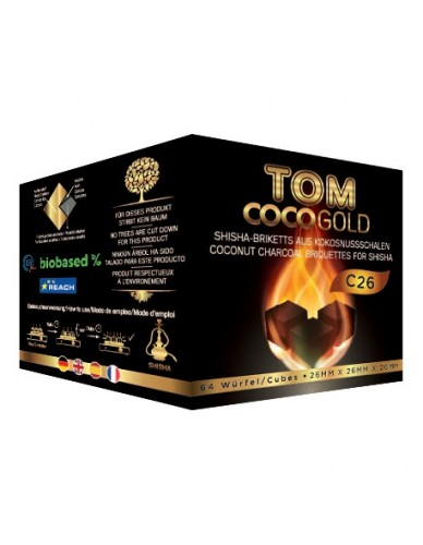 Charbon naturel Tom Coco Gold C26