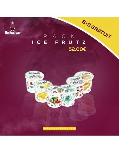 Pack ICE Frutz 8 + 2 Gratuit