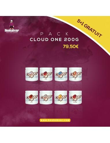 Pack CLOUD ONE 200G 5 + 1 Gratuit