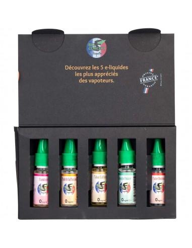 Coffret découverte e-liquides