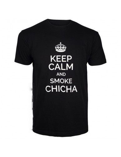 T-shirt Keep Calm and Smoke chicha