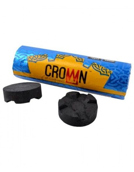 CHARBONS CARBOPOL CROWN 40MM ROULEAU DE 10